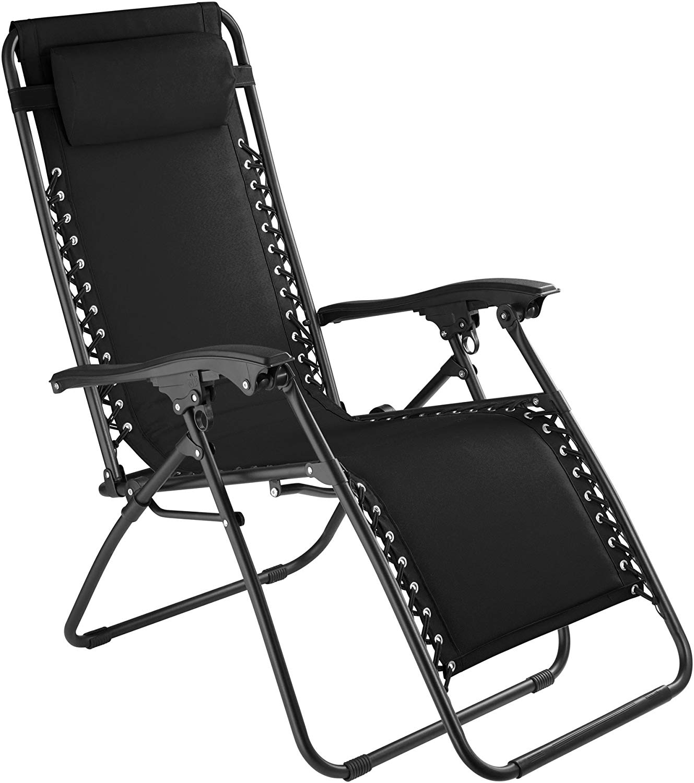 transat jardin tectake 800583 chaise longue toile tendue